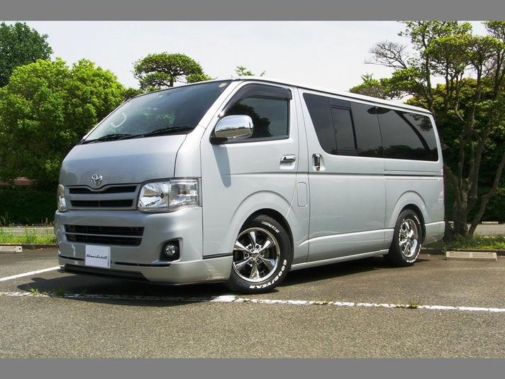 トヨタ 200ハイエースホイールサイズ:16x6.5 6-139.7 +37Special Thanks:T-Style Auto Sales