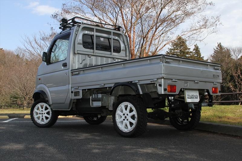 SUZUKIキャリィXtreme-J 15x4.5 4-100 +43Special Thanks:T-Style Auto Sales
