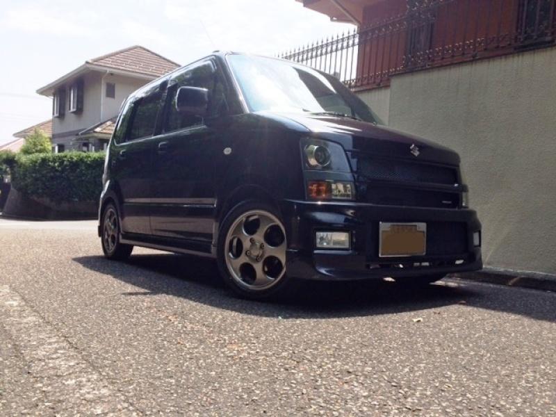 Suzuki Wagon RPoporo 15x4.5 +45Special Thanks:日光商事 Makino Factory様