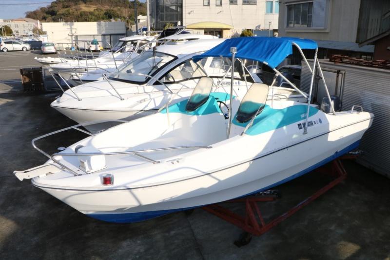 中古艇・中古ボートのボートワールドは中古艇情報をリアルタイムに掲載! 中古艇情報ヤマハ SRV-20 -2 後期モデル (F60CETL・H23年換装)