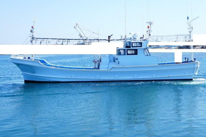 中古艇情報その他(国内)漁船NO,310423 漁船 マグロ小型船 個人造船ー46尺 3級