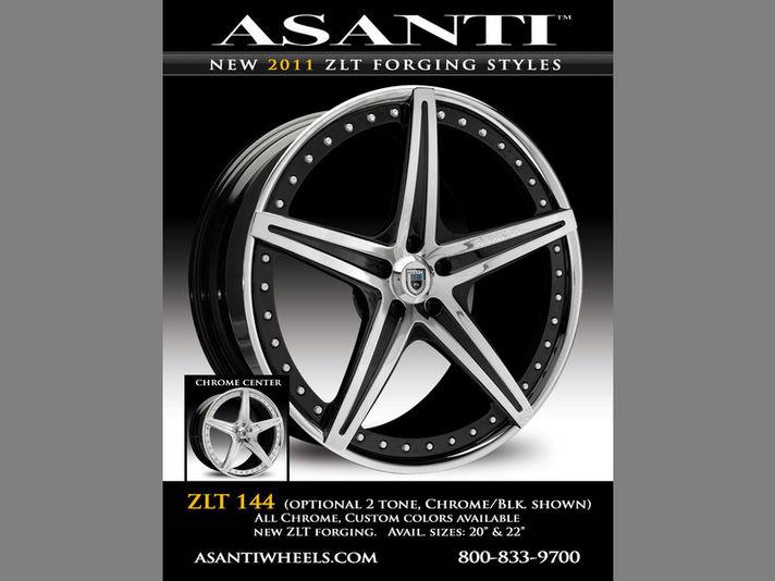 ASANTI AF144 ZLT(Zero Lip Technology) 20/22inc