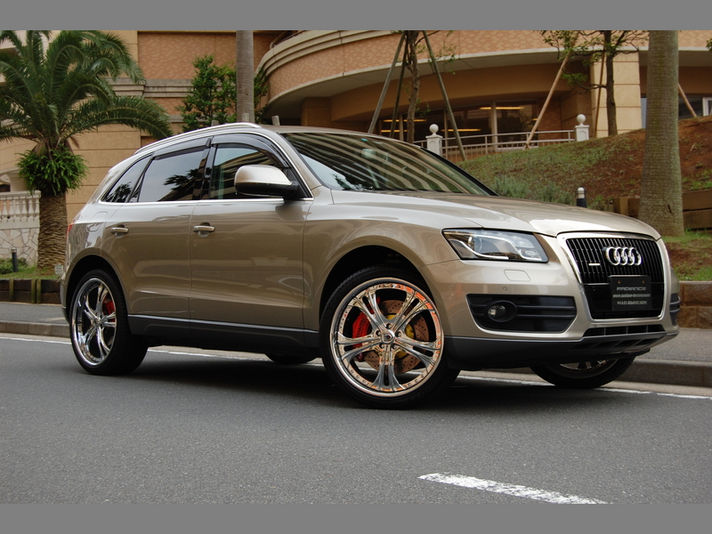AUDI Q5 with AF189 22x9 ET+35Special Thanks:MAKINO Factory