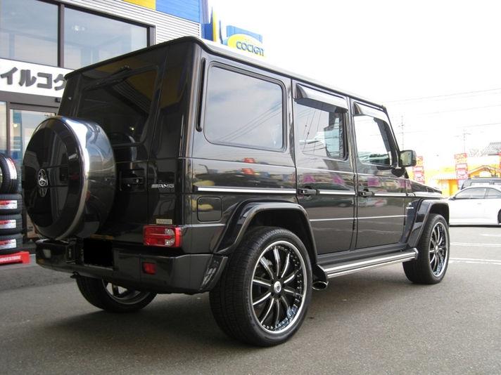 MercedesBenz G55 with AF134 24inch