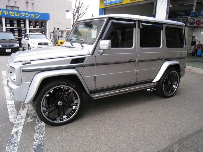 MercedesBenz G55 with AF142 24inch