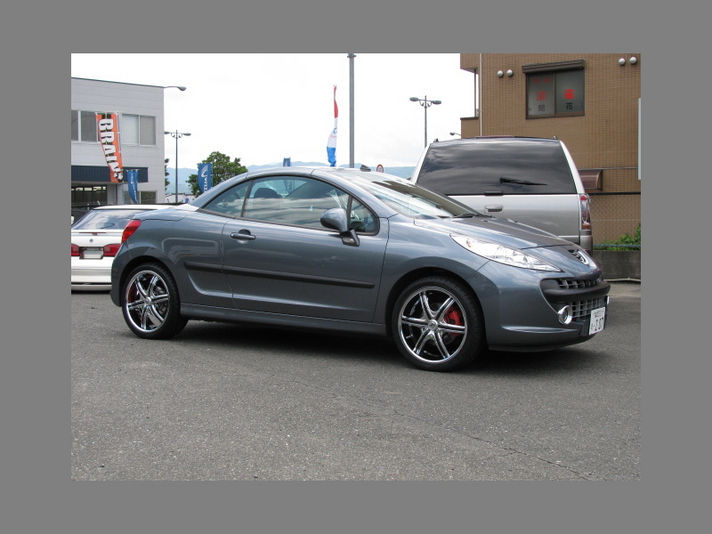 Peujeot 207 with LX-7 18inch