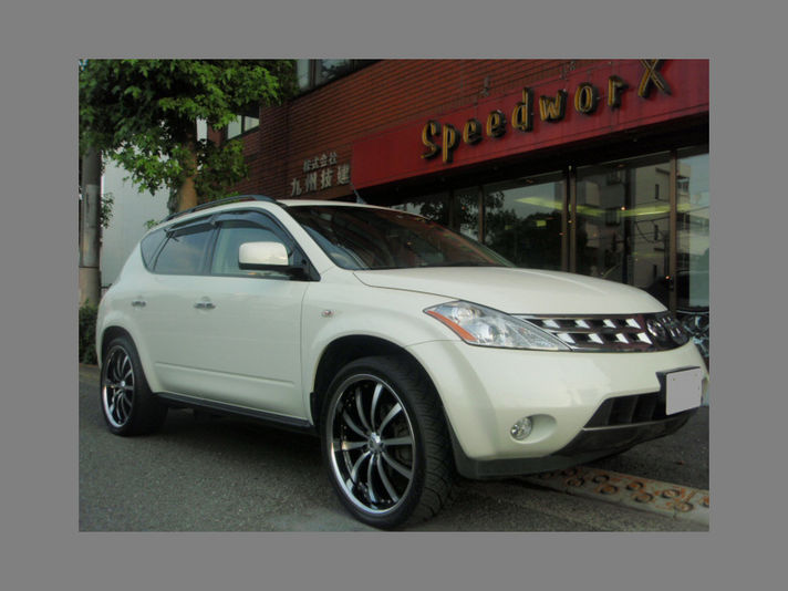 Nissan Murano with LSS-10 22inch