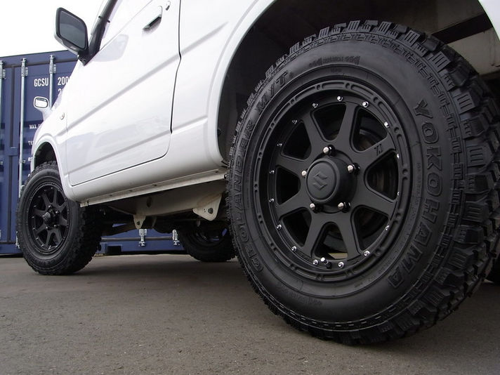 Jimny with Xtreme-J 16inch  Special Thanks:88House