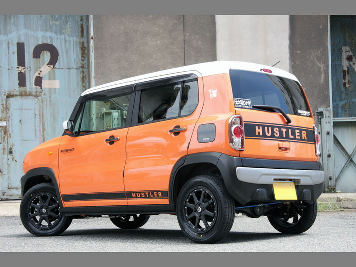 Suzuki ハスラーXtreme-J 15x4.5 4-100 インセット+43、175/65R15Special Thanks:Master Piece