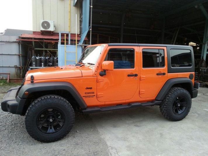 ホイール:KMC XD801 Crank 17x9 ET+18車:Jeep WranglerSpecial Thanks:田中タイヤ