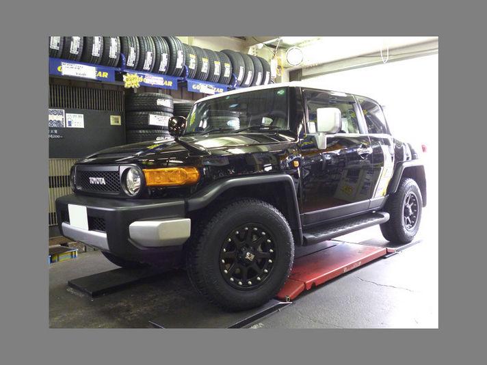 ホイール:KMC XD798 ADDICT M-Black 17x9車:TOYOTA FJ CruiserSpecial Thanks:GOBUYAMA Part2