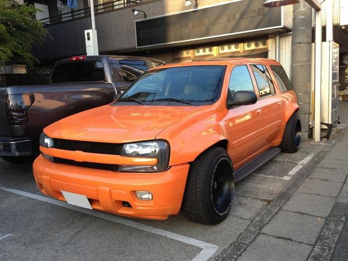 ホイール:KMC XD799 Armour 20x12 ET-44車:Chevrolet Trail BlazerSpecial Thanks:Cool4Ever