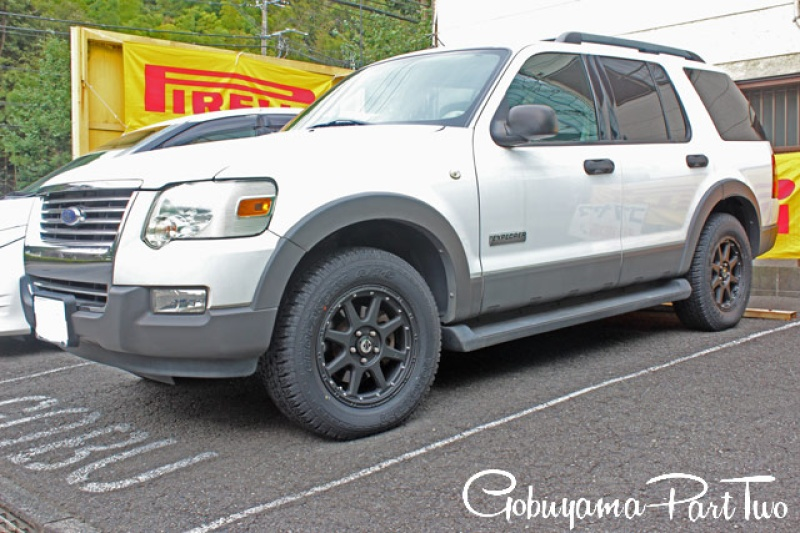 Ford ExplorerXtreme-J 17x7.5Special Thanks:GOBUYAMA Part2