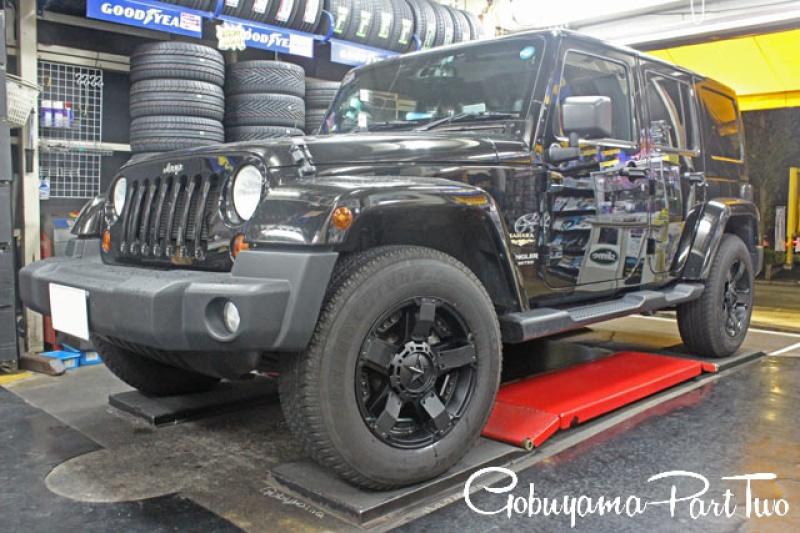 ホイール:KMC XD811RockstarⅡ 18x9車:Jeep WranglerSpecial Thanks:ゴブヤマパート2様