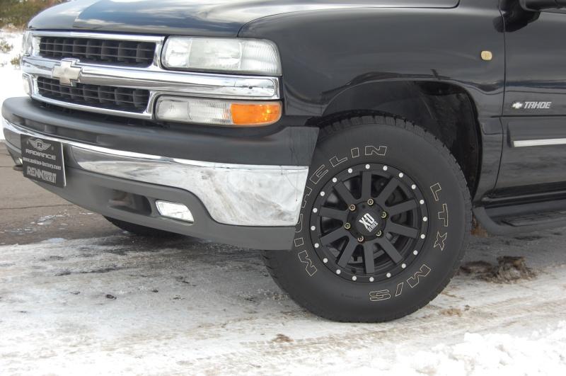 ホイール:KMC XD818 Heist 16x8 +10車:Chevrolet TahoeSpecial Thanks:日光商事 Makino Factory