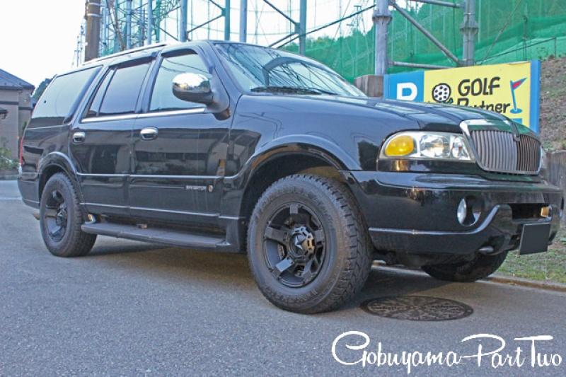 ホイール:KMC XD811 RockstarⅡ 18x9車:Lincoln NavigatorSpecial Thanks:ゴブヤマパート2様