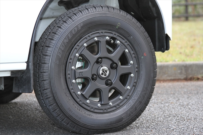 SUZUKIエブリィXtreme-J 12x4 4-100 +42Special Thanks:T-Style Auto Sales