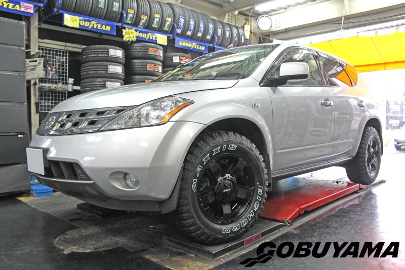 Nissan Muranoホイール:KMC XD811 RockstarⅡ 17x8 5-114.3/127 ET+35タイヤ:Maxxis Bighorn 255/65R17Special Thanks:Gobuyama Part2