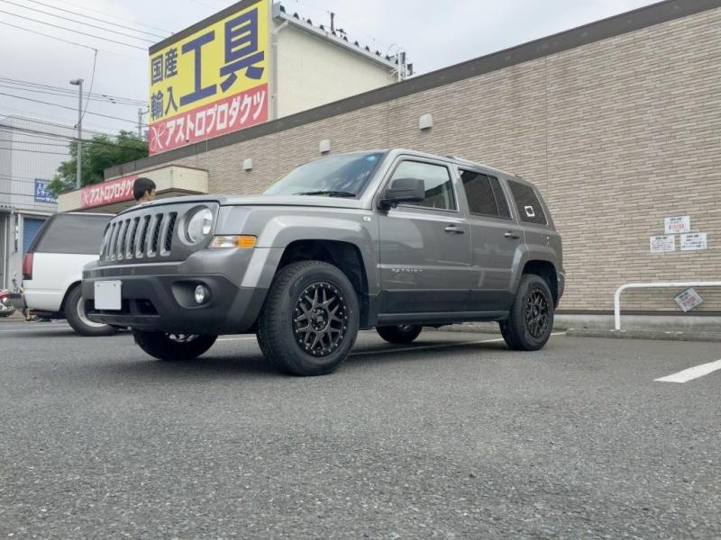 Jeep Patriotホイール:KMC XD127 Bully 16x7  5-114.3 ET+35