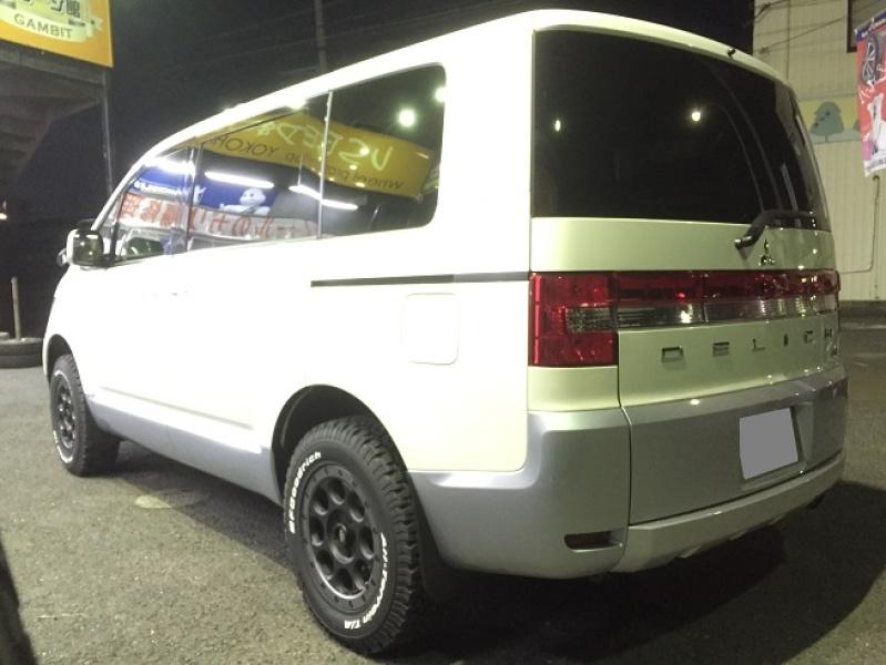 ホイール:XJ03 16x7 5-114.3 +35タイヤ:BF Goodrich 225/70R16Special Thanks:横浜ガレージ館 湘南平塚店