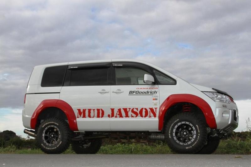 ホイール:XJ03 16x8 5-114.3 +18タイヤ:BF Goodrich 235/85R16Special Thanks:MudJayson