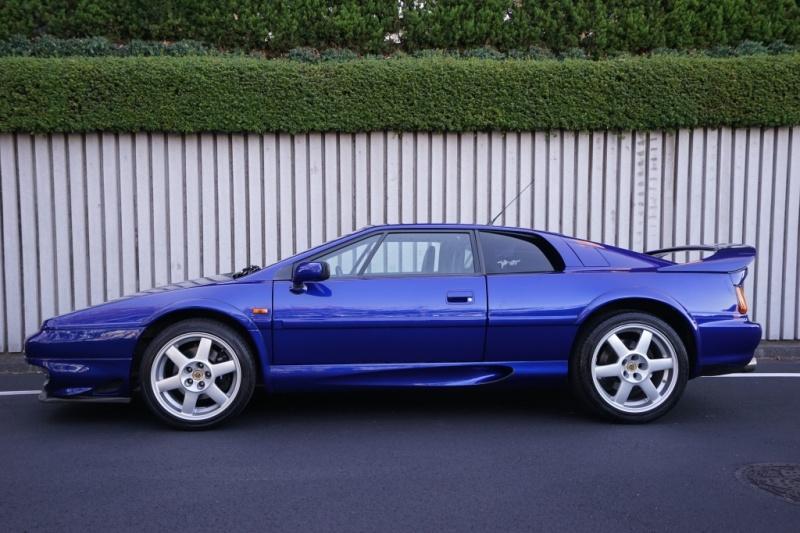 ロータス エスプリ V8 GT バケットスポーツシート 33ナンバー 希少車 右H