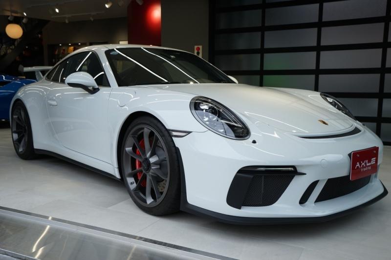 ポルシェ 911(Type991) GT3 D車  6速MT  クラブスポーツ 1オーナー 走行300km フロントリフティング付