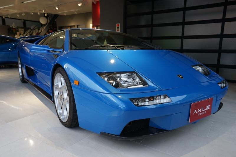 ランボルギーニ ディアブロ VT6.0 4WD ディーラー(ミツワ物)車 カーボンインテリアパネル 記録簿・明細多数