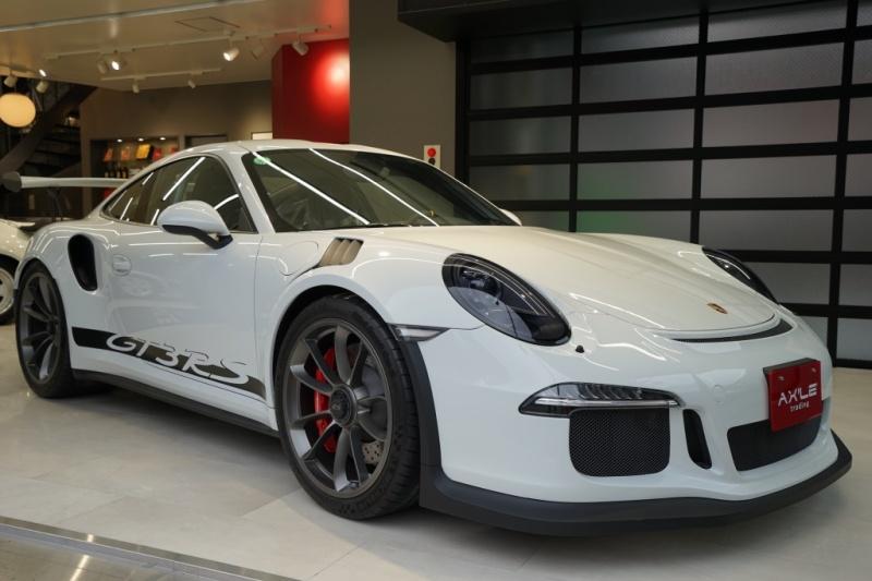 ポルシェ 911(Type991) GT3RS ディーラー車 フロントリフティング スポーツクロノPKG 走行450km