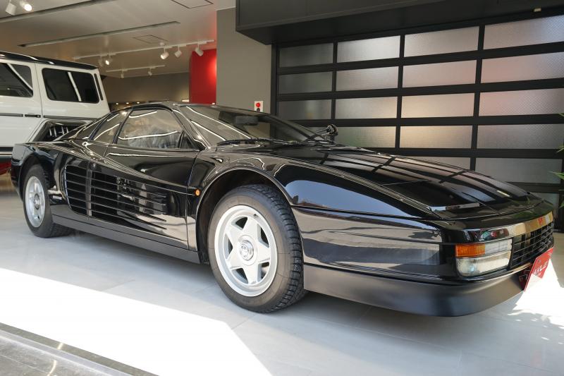 フェラーリ テスタロッサ ディーラー車 1ミラー センターロック 走行:3770km