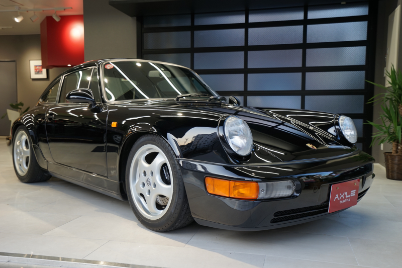 ポルシェ 911(Type964) カレラRS ディーラー車(ミツワ物) 2オーナー 品川34ナンバー 走行18000km台