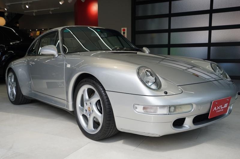ポルシェ 911(Type993) カレラS ディーラー車(ミツワ物) 記録簿20枚有り ワイドフェンダー ターボホイール