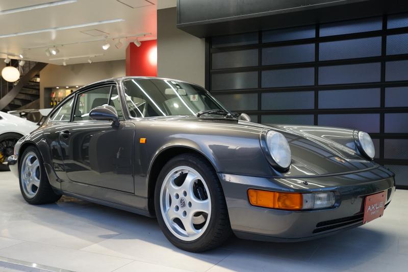 ポルシェ 911(Type964) ディーラー車 エンジンOH済み ブラックレザーシート