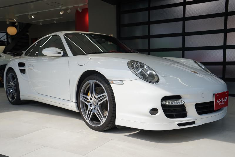 ポルシェ 911(Type997) 911ターボ スポーツクロノPKG サンルーフ ディーラー車