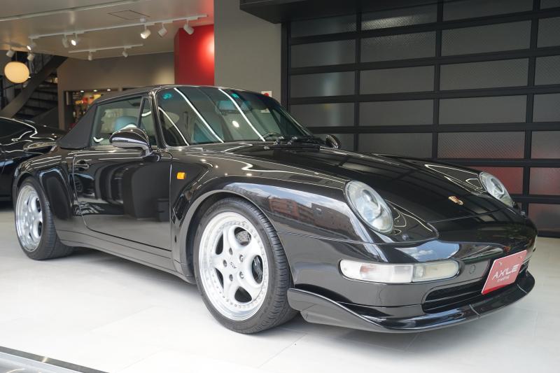 ポルシェ 911(Type993) カブリオレ 後期型 バリオラムエンジン ディーラー車(ミツワ物) スピードラインRSホイール 記録簿多数