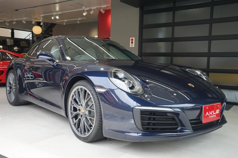 ポルシェ 911(Type991) 991-2 カレラ 7速MT ディーラー車 スポーツクロノPKG ブラックLEDヘッドライト 走行3300km