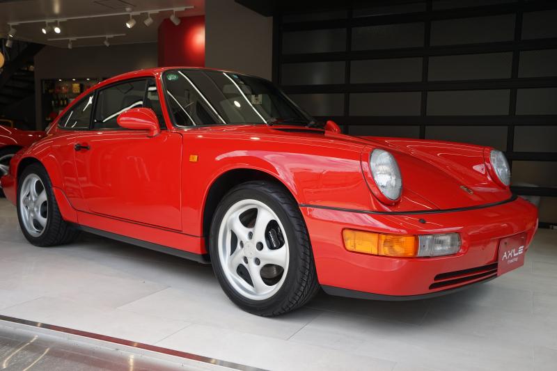 ポルシェ 911(Type964) 964 カレラ2 5MT 実走30600km ディーラー車