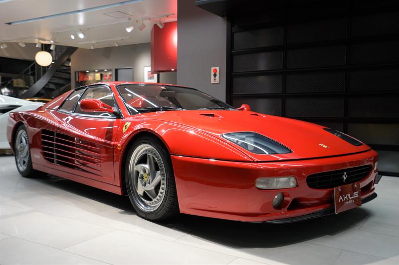 フェラーリ F512M ディーラー車 走行16000km台 生産台数501台 コノリー製ブラックレザーシート