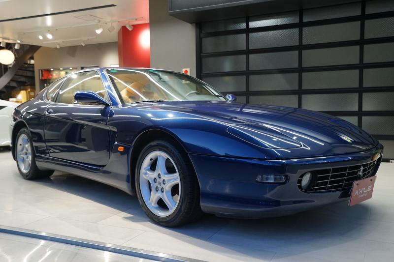 フェラーリ 456M GTA ディーラー車 2オーナー 記録簿複数枚/取説類/ブックケース/純正工具/ボディカバー