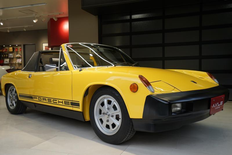 ポルシェ 914 914S 2.0 ディーラー車(ミツワ物)純正カラーチェックシート インジェクションエンジン 日本語版取説付/ブックケース/工具/スペアキー/記録簿