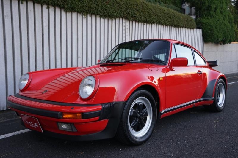 ポルシェ 911(Type930) 3.3 turbo 取説・ブックケース等有り