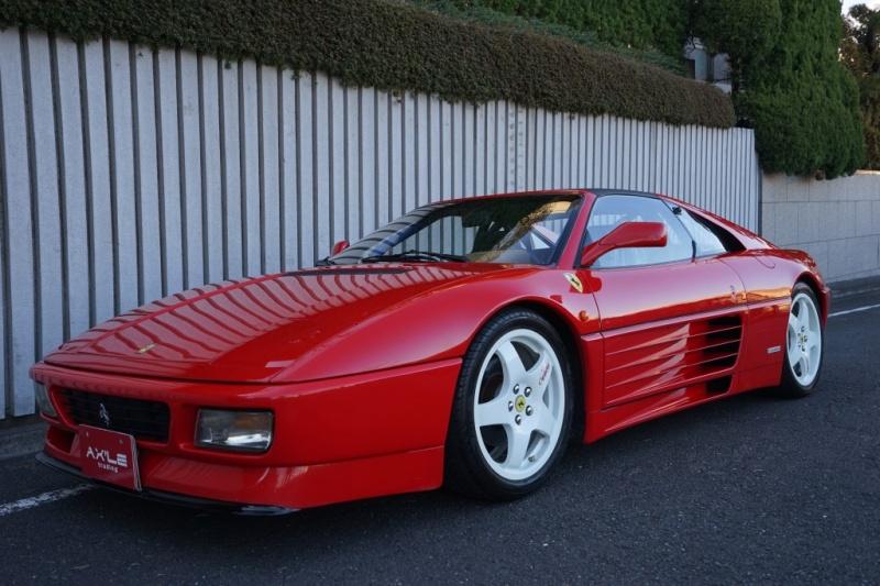 フェラーリ 348 TS ディーラー車 チャレンジ仕様 請求明細等50枚程有り