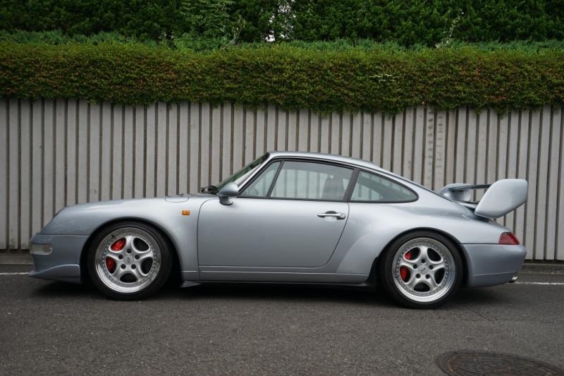 ポルシェ 911(Type993) カレラRS 18インチスピードラインAW カラードシートベルト